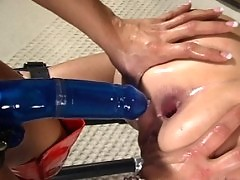 Sexy women passionatedly engaging in BDSM.