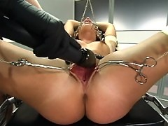 Katja Kassins fascination for BDSM leads her to anal fucking.