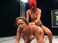 Christina Carter takes on Crimson Ninja