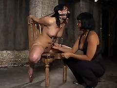 Chyna contest her ticket and is punished and tied by a cop