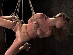 Sexy girls in real lesbian BDSM.
