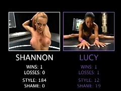 Shannon Kelly takes on Lucy Lee. See how one gets disqualified