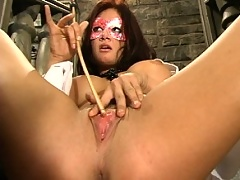 Tory Lane shows hubby who is the boss