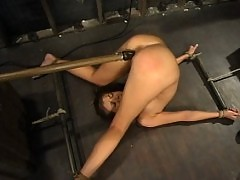 Veronica is bound spanked, tickled, and fucked.