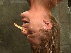 jenni Lee has an intense fear of water play but loves clit play