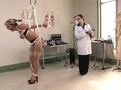 Delilah undergoes electro therapy to cure her sluttiness