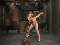 First-time model Gen Padova gets trained in basic hardcore BDSM