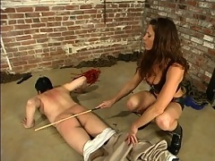 Date takes some extrmeme beatings and wax play from Kym