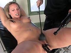 Harmony Rose trained to be a slave girl