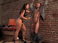 Slave boy in bdsm