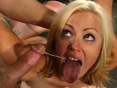 Seven loves bondage and helplessly submits to being fucked.
