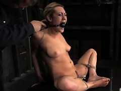20 year old gets tightly bound, and forced to cum over and over.