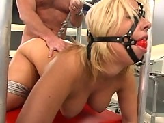 Georgia Peach gets dominated and fucked full throttle.
